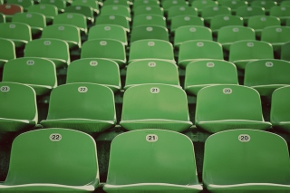Vacant Seats Background for Android, iPhone and iPad
