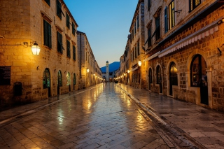 Stradun street in Dubrovnik, Croatia Picture for Android, iPhone and iPad