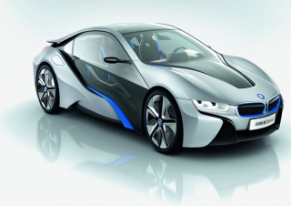 BMW i8 Background for Android, iPhone and iPad