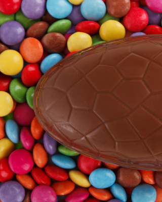 Easter Chocolate Egg - Obrázkek zdarma pro Nokia C2-02