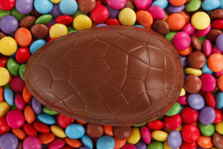 Free Easter Chocolate Egg Picture for Android, iPhone and iPad