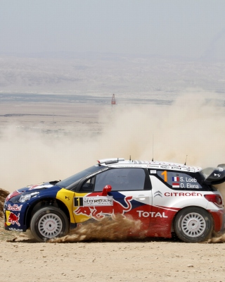 Citroen Racing WRC - Obrázkek zdarma pro 360x480