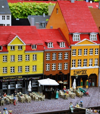 Lego City - Obrázkek zdarma pro Nokia Lumia 920T