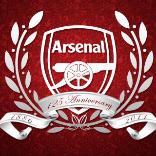 Arsenal FC Emblem - Obrázkek zdarma pro iPad