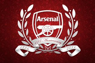 Arsenal FC Emblem - Obrázkek zdarma pro Fullscreen Desktop 1024x768