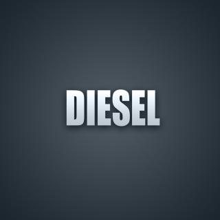 Diesel Logo - Obrázkek zdarma pro 1024x1024
