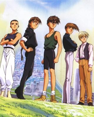 Quatre Gundam Pilots - Obrázkek zdarma pro 360x640