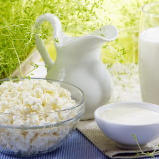 Milk and milk Products - Obrázkek zdarma pro iPad