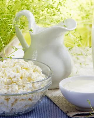 Milk and milk Products - Obrázkek zdarma pro 320x480