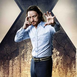 James McAvoy As Charles Xavier - Obrázkek zdarma pro iPad