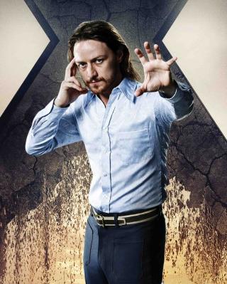 James McAvoy As Charles Xavier - Obrázkek zdarma pro iPhone 5