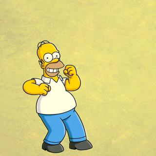 Homer Simpson GIF - Obrázkek zdarma pro iPad