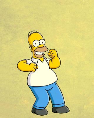 Homer Simpson GIF - Obrázkek zdarma pro Nokia Asha 202