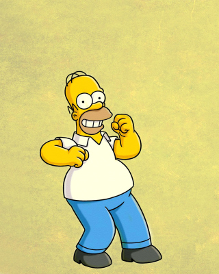 Homer Simpson GIF - Obrázkek zdarma pro Nokia C3-01 Gold Edition