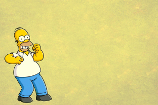 Homer Simpson GIF Background for Android, iPhone and iPad