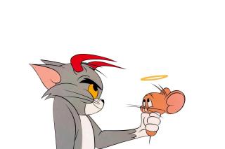 Tom and Jerry - Obrázkek zdarma pro Samsung Galaxy S II 4G