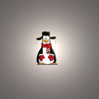 Funny Penguin Illustration - Obrázkek zdarma pro iPad