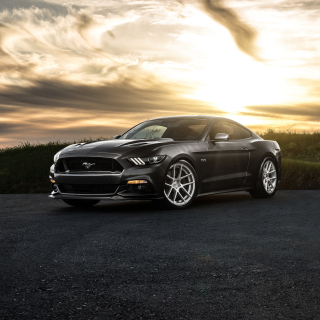 Ford Mustang 2015 Avant - Obrázkek zdarma pro iPad Air