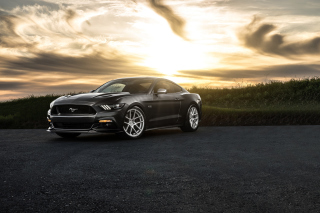 Ford Mustang 2015 Avant Background for Android, iPhone and iPad