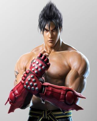 Jin Kazama, The Tekken Game - Obrázkek zdarma pro 360x400