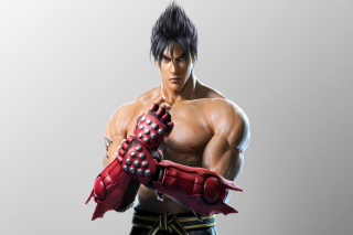 Jin Kazama, The Tekken Game - Obrázkek zdarma pro Nokia Asha 205