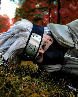 Hatake Kakashi Cosplay Costume - Obrázkek zdarma pro Nokia Asha 202