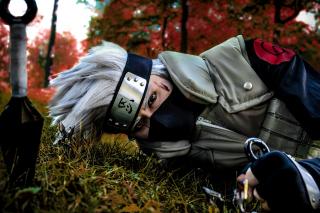 Hatake Kakashi Cosplay Costume - Obrázkek zdarma pro Sony Xperia Z3 Compact