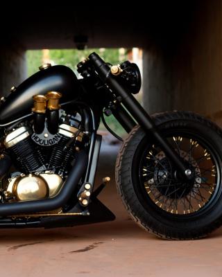 Bobber Hooligan Bike - Obrázkek zdarma pro 132x176