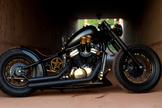 Bobber Hooligan Bike - Obrázkek zdarma pro 1600x1280