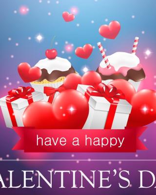 Happy Valentines Day - Obrázkek zdarma pro Nokia C2-05