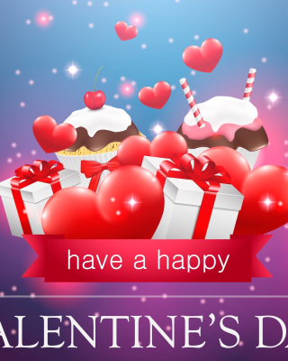 Happy Valentines Day - Obrázkek zdarma pro Nokia Asha 203