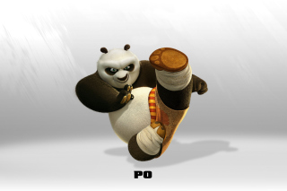 Kung Fu Panda - Obrázkek zdarma pro 1366x768