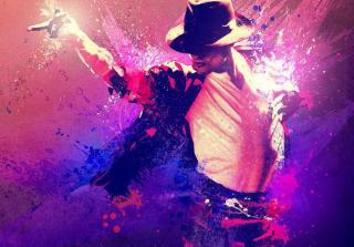 Michael Jackson Art - Obrázkek zdarma pro Sony Xperia M