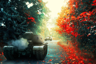 T 54 World of Tanks Background for Android, iPhone and iPad