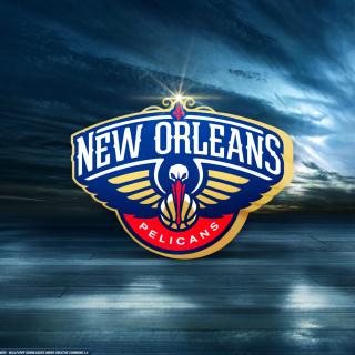New Orleans Pelicans Logo - Obrázkek zdarma pro 1024x1024