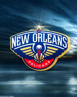 New Orleans Pelicans Logo - Obrázkek zdarma pro Nokia Asha 303