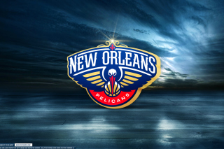 New Orleans Pelicans Logo - Obrázkek zdarma pro Samsung Galaxy Tab S 8.4