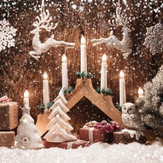 Christmas Candles - Obrázkek zdarma pro 2048x2048
