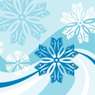 Snowflakes Patterns - Obrázkek zdarma pro iPad 3