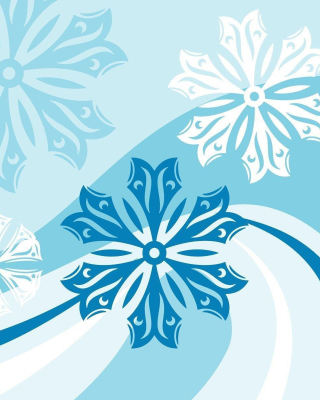 Snowflakes Patterns - Obrázkek zdarma pro Nokia Asha 305