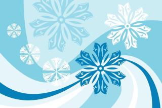 Snowflakes Patterns - Obrázkek zdarma pro Samsung Galaxy Tab S 8.4
