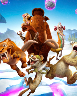 Ice Age Collision Course - Obrázkek zdarma pro Nokia Asha 202