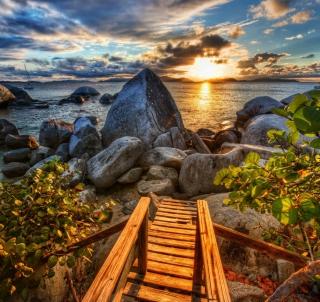 Caribbean Sea - Obrázkek zdarma pro iPad mini