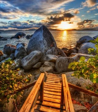 Caribbean Sea - Obrázkek zdarma pro Nokia X6