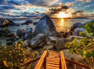 Caribbean Sea - Obrázkek zdarma pro HTC EVO 4G