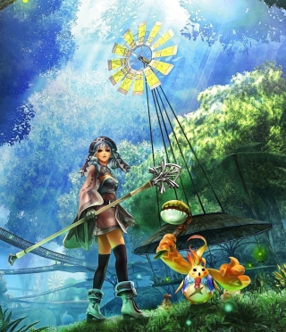 Xenoblade Chronicles - Obrázkek zdarma pro 360x400
