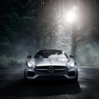 2016 Mercedes Benz AMG GT S - Obrázkek zdarma pro iPad 2