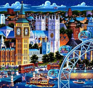 Life In The City - Obrázkek zdarma pro iPad