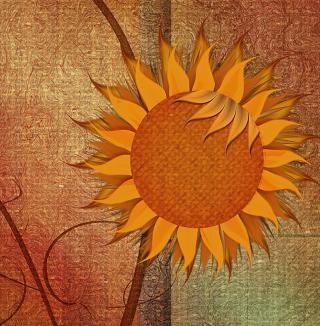 Sunflower - Obrázkek zdarma pro iPad Air