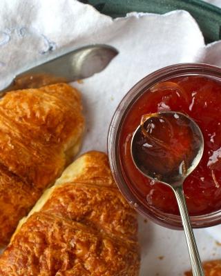 Croissants and Jam - Obrázkek zdarma pro iPhone 4S
